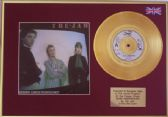 "THE JAM  -  24 Carat Gold  7""+cover  -  GOING UNDERGROUND"